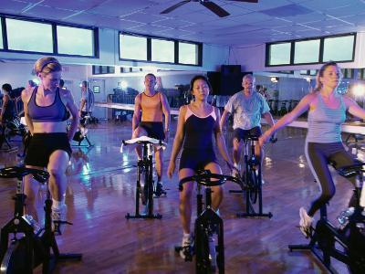 Spinning Class--Photographic Print