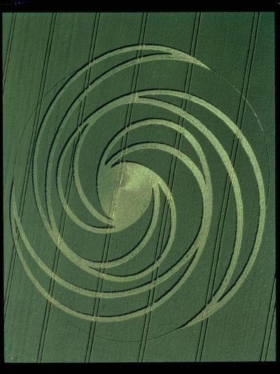 Spiral Formation, 4th July 1999--Photographic Print