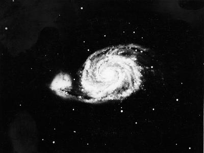 Spiral Galaxy (M5) in Canes Venatici, 1910--Giclee Print