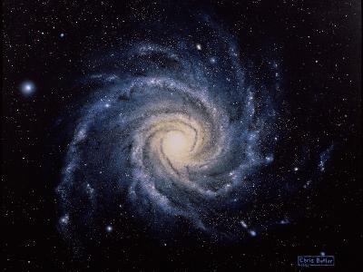 Spiral Galaxy M74-Chris Butler-Photographic Print