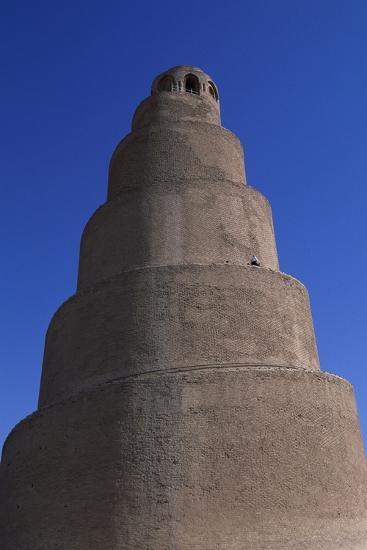 Spiral Minaret, Abu Dulaf Mosque--Giclee Print