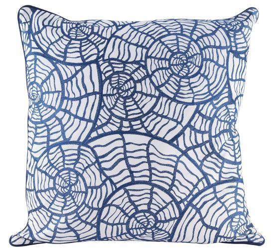 Spiral Shells Pillow--Home Accessories