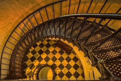 Spiral Staircase of St. Augustine Lighthouse, St. Augustine, Florida-Rona Schwarz-Photographic Print