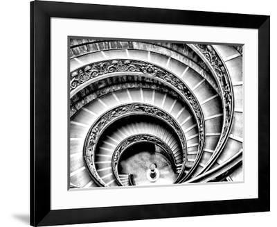 Spiral Staircase-Andrea Costantini-Framed Photographic Print
