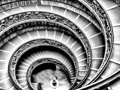 Spiral Staircase-Andrea Costantini-Premium Photographic Print