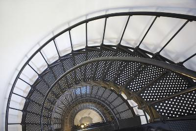 Spiral Stairway in Yaquina Head Lighthouse; Oregon United States of America-Design Pics Inc-Photographic Print