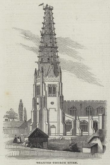 Spire of Thaxted Church--Giclee Print