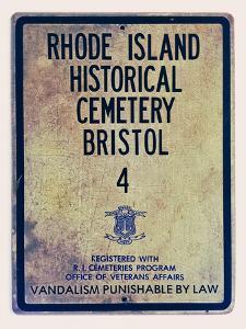 Rhode Island Historical Cemetary Bristol by Spires