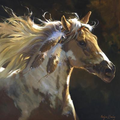 Spirit Horse-Carolyne Hawley-Art Print
