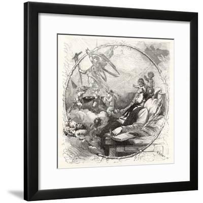 Spirit Sacrifice to Wine--Framed Giclee Print