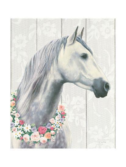 Spirit Stallion I on Wood Crop-James Wiens-Art Print