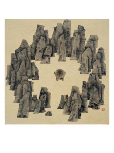 Spirits in the Heaven and Earth Series, No.16-Xu Bin-Giclee Print