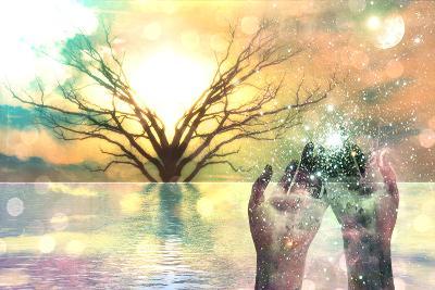 Spiritual Composition-rolffimages-Art Print