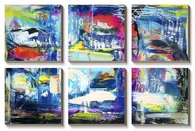 Spiritual Graffiti II-Jodi Fuchs-Canvas Art Set