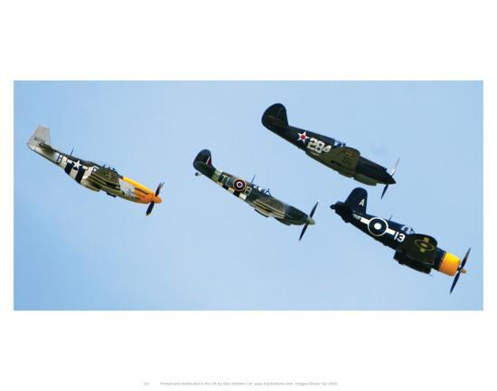 Spitfire--Art Print