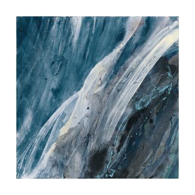 Splash Indigo-Albena Hristova-Art Print