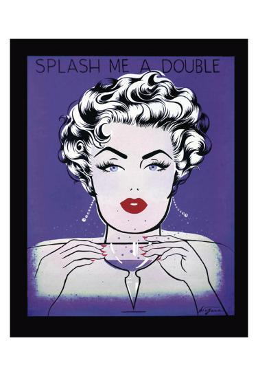 Splash Me a Double-Niagara-Art Print