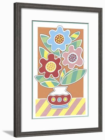 Splash of Colour III-Enrique Hormigos-Framed Art Print