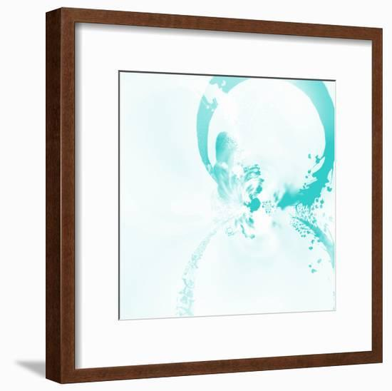 Splash Rings 1 - Recolor-Travis Winn-Framed Premium Giclee Print