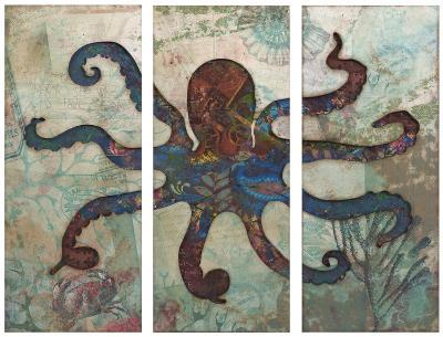 Splash Tryptych Octopus--Home Accessories