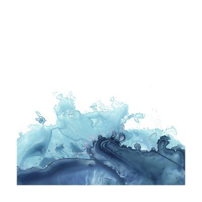 Splash Wave III-June Vess-Art Print