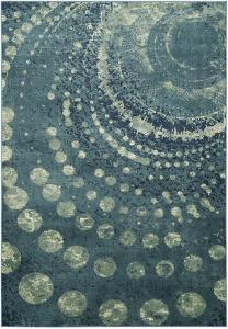 Splashdown Area Rug - Teal 8' x 11'2""