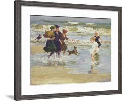 Splashing-Edward Henry Potthast-Framed Giclee Print