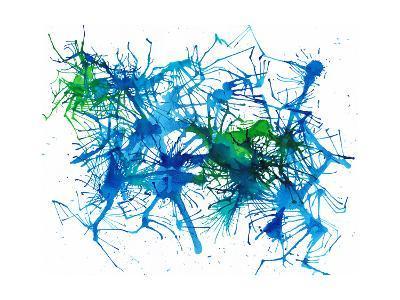 Splatters 1-Hello Angel-Giclee Print