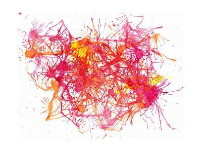 Splatters 2-Hello Angel-Giclee Print