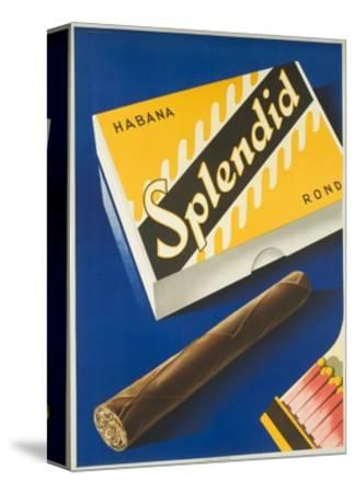 Splendid Cigar, Swiss Advertising Poster