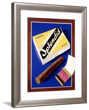 Splendid Habana Rond-Fred Neukomm-Framed Giclee Print