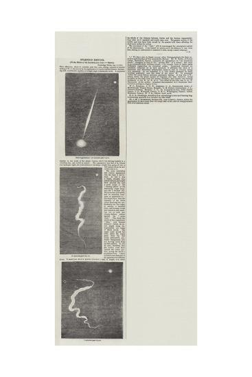 Splendid Meteor--Giclee Print