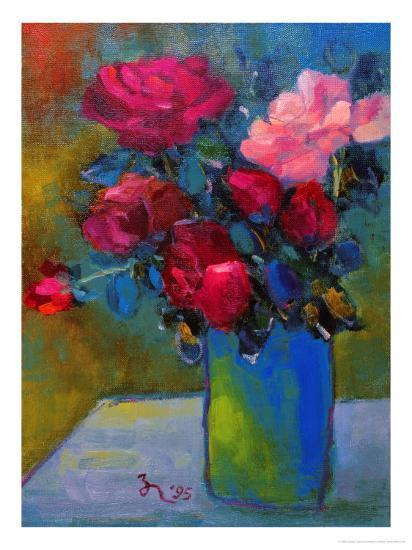 Splendid Roses-Oyang Counfu-Giclee Print