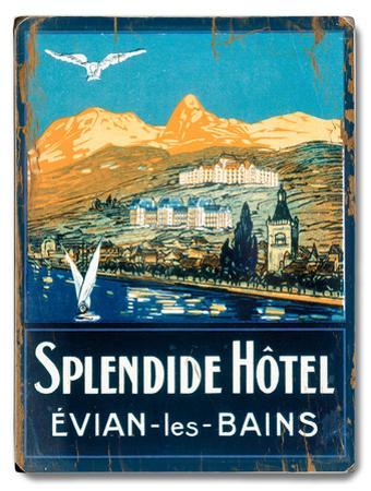 Splendide Hotel, Evian les Bains