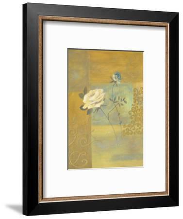 Splendor in Gold-Muriel Verger-Framed Art Print