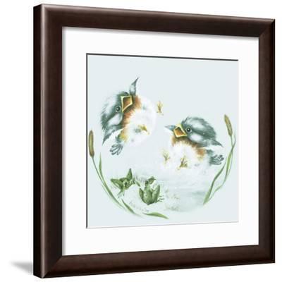 Splish Splash-Peggy Harris-Framed Giclee Print