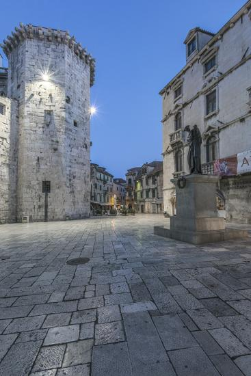 Split Old Town at Dawn-Rob Tilley-Photographic Print