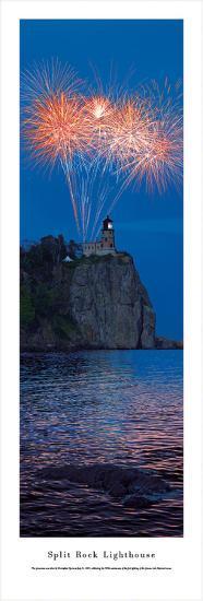 Split Rock Lighthouse - 100th-Christopher Gjevre-Art Print