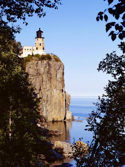 Split Rock Lighthouse, Two Harbors, Lake Superior, Minnesota-Peter Hawkins-Photographic Print