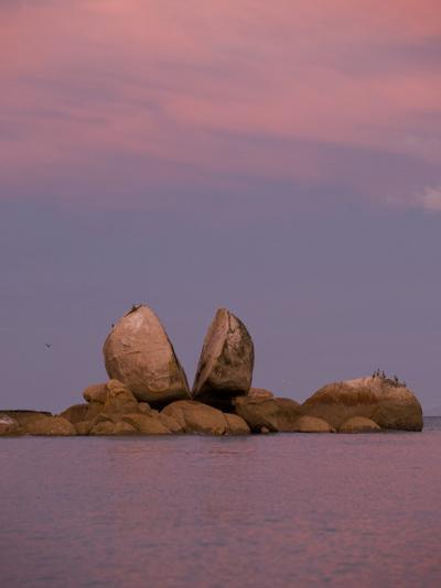 Split Rocks an Unusual Group of Rocks in Split Apple Cove-Bill Hatcher-Photographic Print