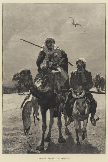 Spoils from the Desert-Richard Caton Woodville II-Giclee Print
