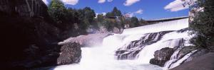 Spokane Falls at Spokane River, Spokane, Washington State, USA
