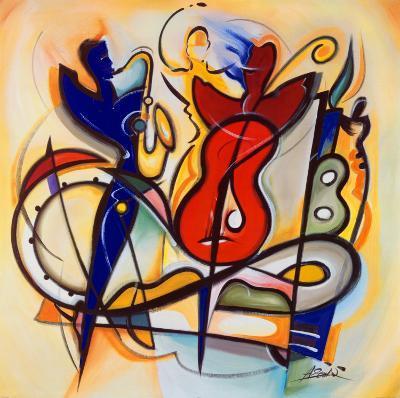 Spontaneous Jam-Alfred Gockel-Art Print