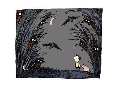 Spooky-Carla Martell-Giclee Print