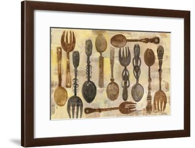 Spoons and Forks-Albena Hristova-Framed Art Print