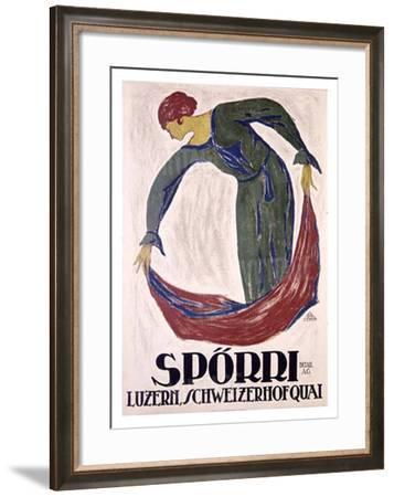 Sporri-B. Durst-Framed Giclee Print