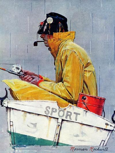 """""""Sport"""", April 29,1939-Norman Rockwell-Giclee Print"""