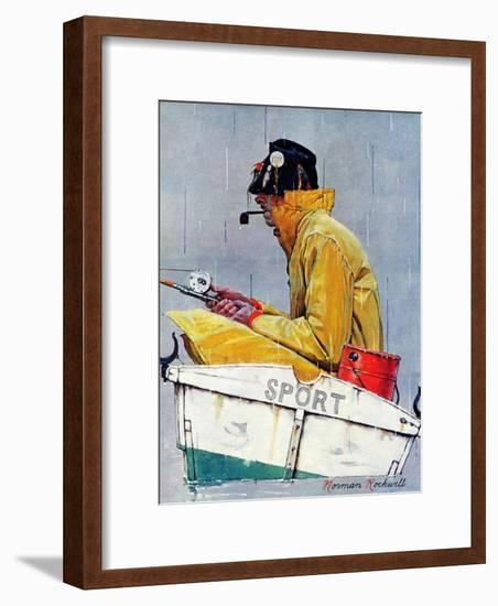 """Sport"", April 29,1939-Norman Rockwell-Framed Giclee Print"