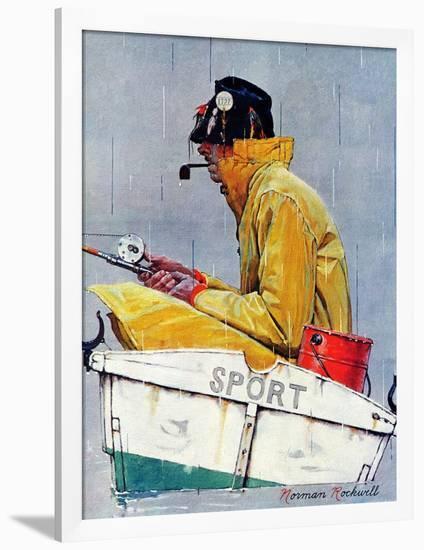 """Sport"", April 29,1939-Norman Rockwell-Framed Giclee Print"