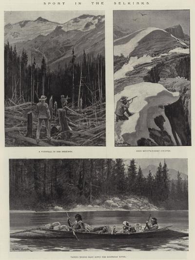 Sport in the Selkirks-Richard Caton Woodville II-Giclee Print